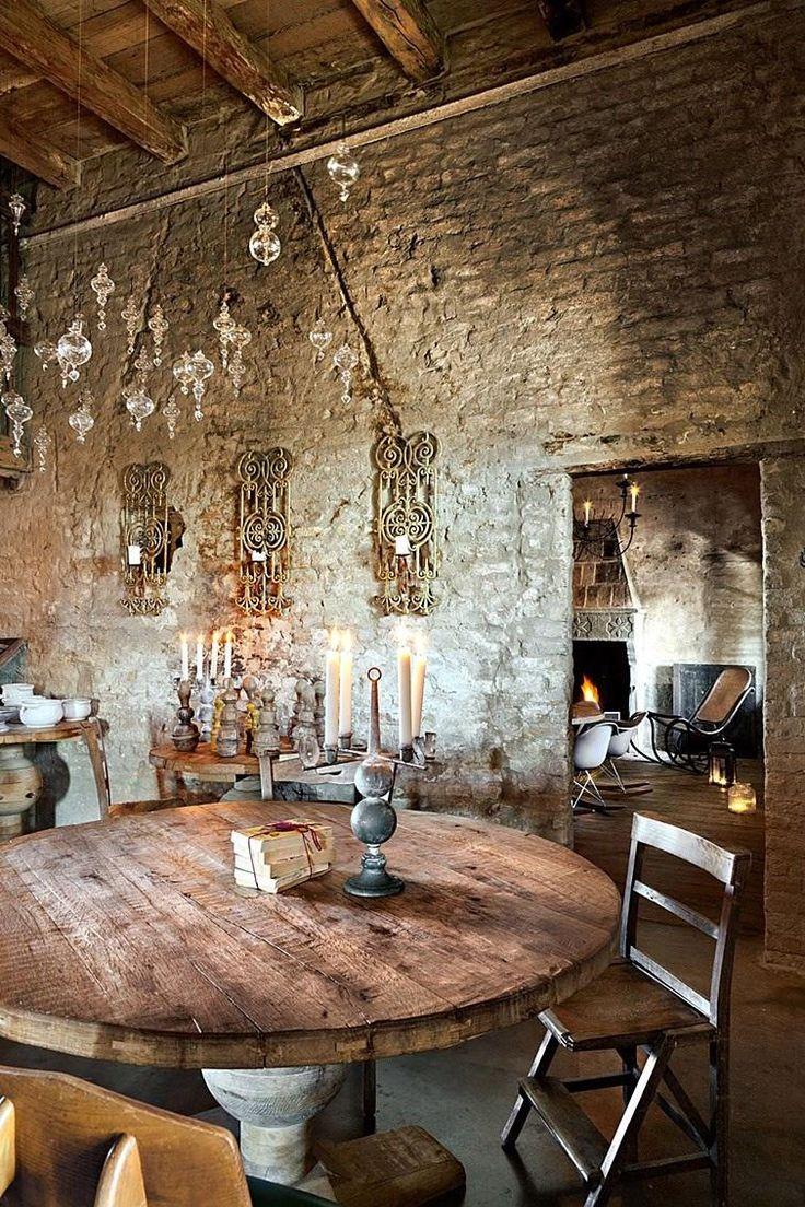 Arredamento rustico attuale old world rustic house for Arredamento rustico italiano