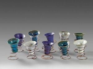 Vasos con cobre Sonia Cruz Barrogres.cl