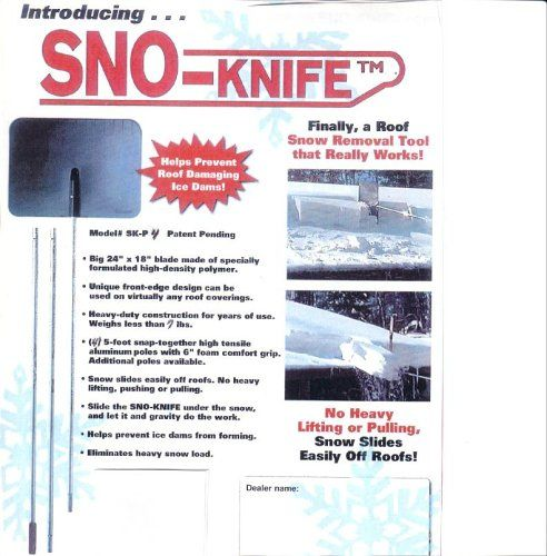 Snow Rakes - SnoKnife SKP3 Kit 15 ft Roof snow removal tool rake * Click image to review more details. (This is an Amazon affiliate link)