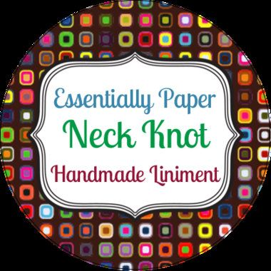 Neck Knot Essential Oil Liniment, Handmade Ointment, Salve, Pain, Muscular Tension, Muscle Fatigue, Deep Tissue, Spasms, Neck Injury by EssentiallyPaperShop on Etsy