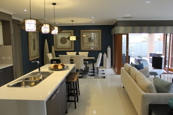 Aspen Living area by Zuccala Homes #Woodleaestate  #land #houseandland #newlandestate #newhome #kitchen #dining #lounge