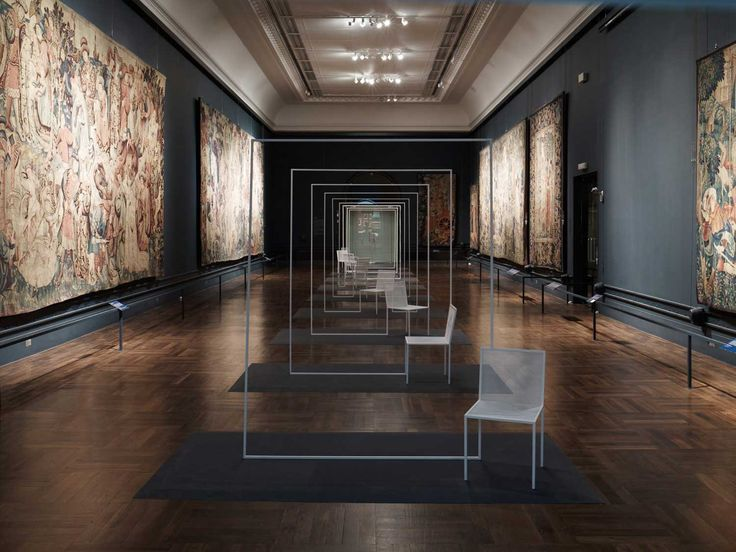 Chair Installation at V&A by Nendo | Yellowtrace