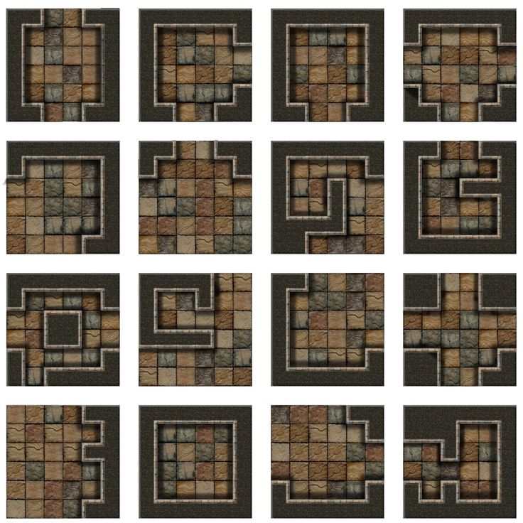 It's just a graphic of Dynamic Dungeons and Dragons Tiles Printable