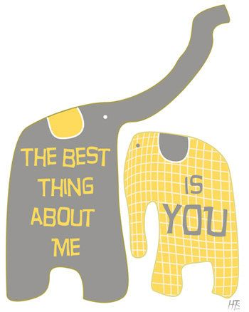 The best thing about me is you - Love Typography Print ... - photo#43