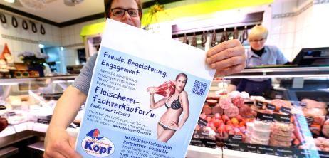 Mitarbeiterwerbung für die Metzgerei: Fleischbeschau für die Fleischtheke - SPIEGEL ONLINE - Nachrichten - KarriereSPIEGEL