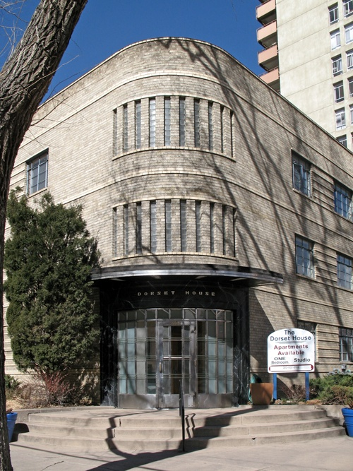 Dorset House Apartment Building On Capitol Hill In Denver, Colorado, Built