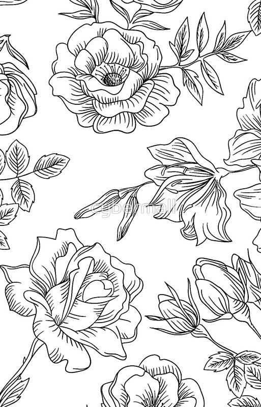 Spring Rose Pattern