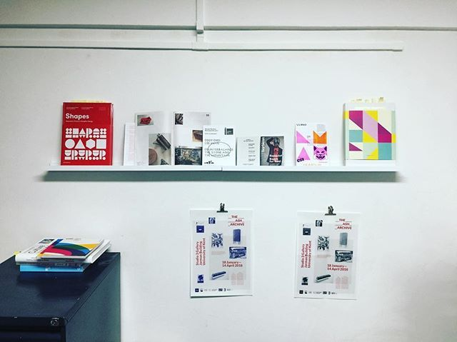 Shapes on our wall #bulletcreative