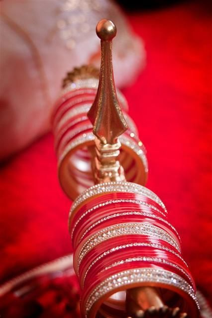 That would be perfect at the chura ceremony, its a perfect way to show your chura and have it as a decor piece