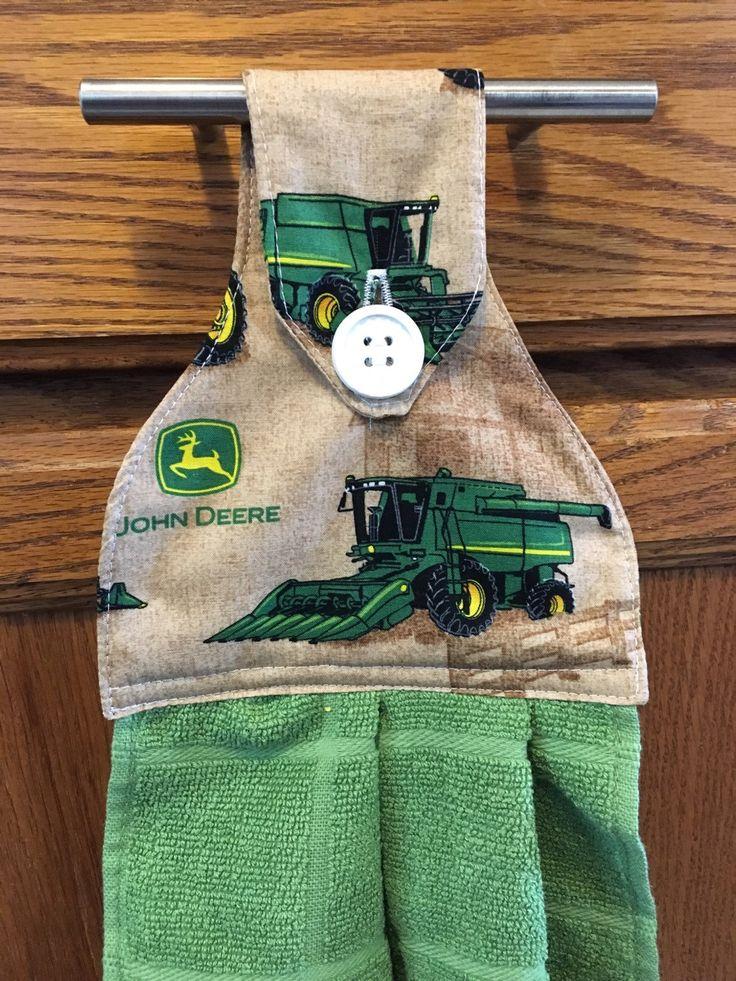 New to Sewdivine77 on Etsy: John Deere kitchen/bathroom hanging towel (8.50 USD)