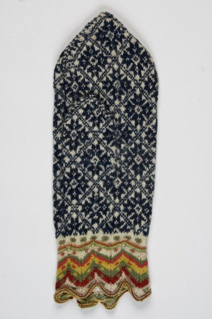 Estonian mitten, fantastic colour choices