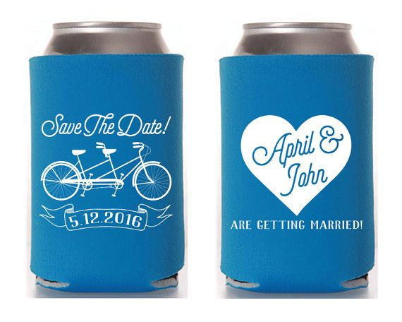 Bicycle Engagement Party Favors Engagement Party Favors Save the Date Wedding Favors Tandem Bike Surprise Engagement Party Gifts 1290 by SipHipHooray