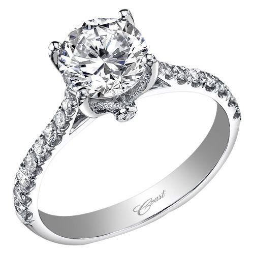 Coast Diamond Wedding Ring