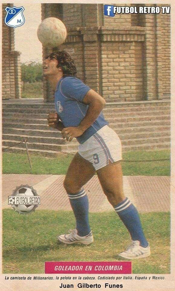 #millonarios Juan Gilberto Funes. Grande Búfalo!! Q.E.P.D