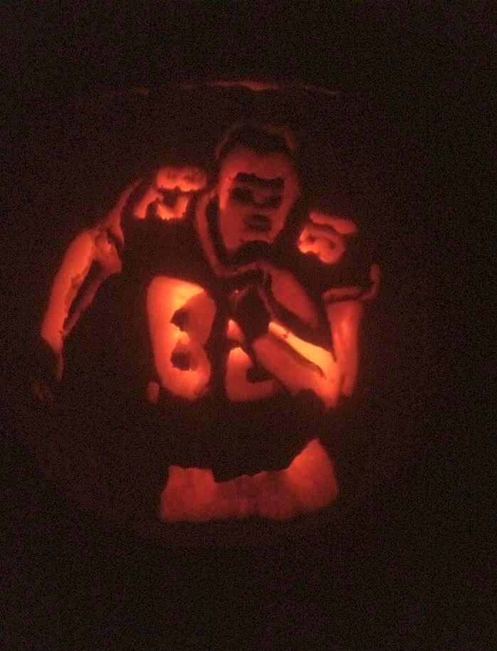 jason halloween pumpkin