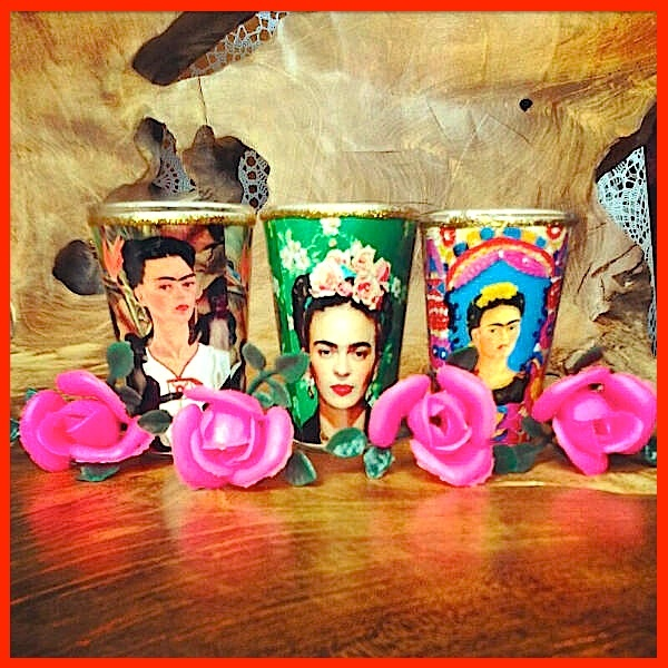 "Votives - MILAGROS MUNDO ""Funky Fairtrade & Hippy Chic"": ❀ VIVA MEXICO ❀"