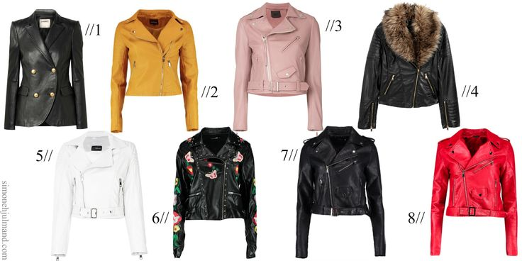 WHY YOU SHOULD ADD LEATHER JACKETS TO YOUR WARDROBE // Fashion Inspiration, Style Inspiration, Luxury Fashion, Designer Brands, Faux Leather Jacket, Black Leather Jacket, Leather Blazer, Yellow Leather Jacket, White Leather Jacket, Pink Leather Jacket, Red Leather Jacket, Boohoo, H&M, Fashion Blogger, Fashion Blog // simonehjulmand.com