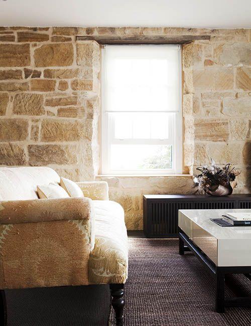 BALMAIN WHARF APARTMENTS | alwill  #interiors #neutral #sandstone #livingroom