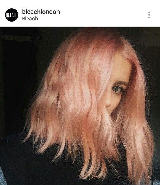 Bleach London Hair Pinterest Hair Blorange Hair And Hair Styles