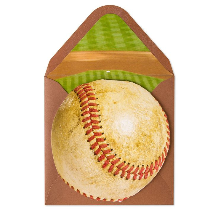 Old Baseball Birthday Cards