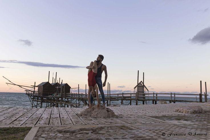 La Danza tra le Vie di #Termoli. Un progetto dello Studio 3 Ballet. www.termolidancephotoproject.com