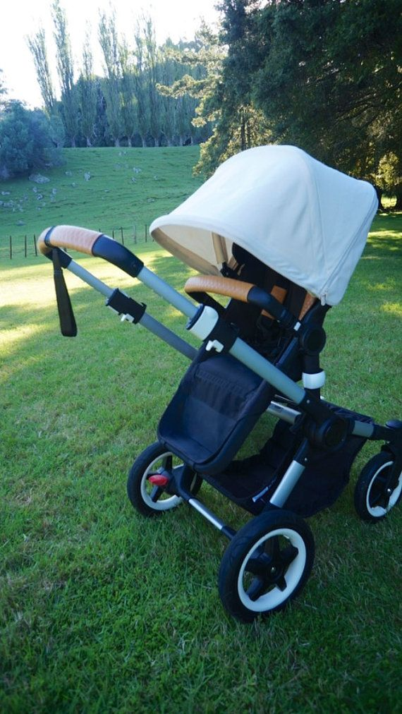 Leder-Kinderwagen Griff & Bauch / von MosimuStyleMyBugaboo auf Etsy