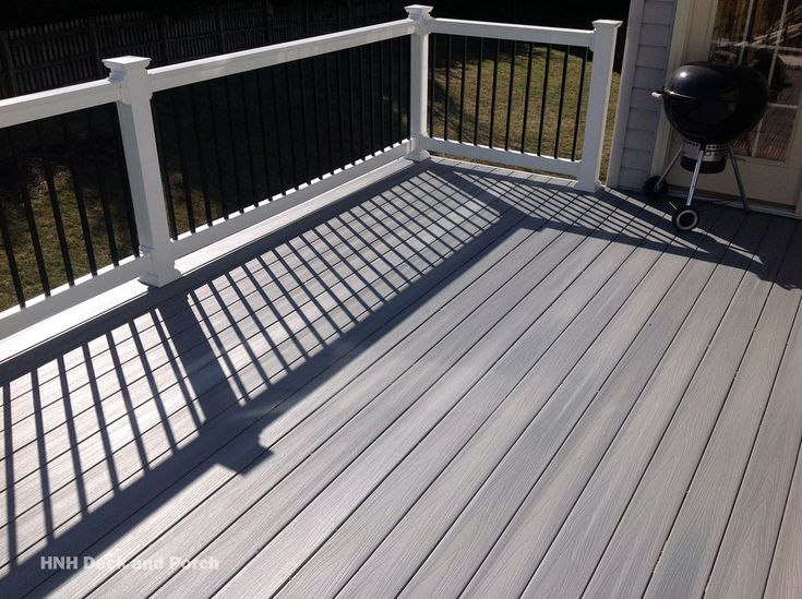 Choose from several decking colors and materials of trusted suppliers such as Wolf Products, Trex, Fiberon, Azek, Club House, and Timbertech.