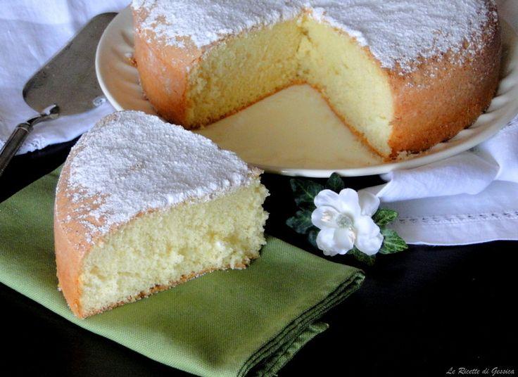 Torta Margherita senza burro