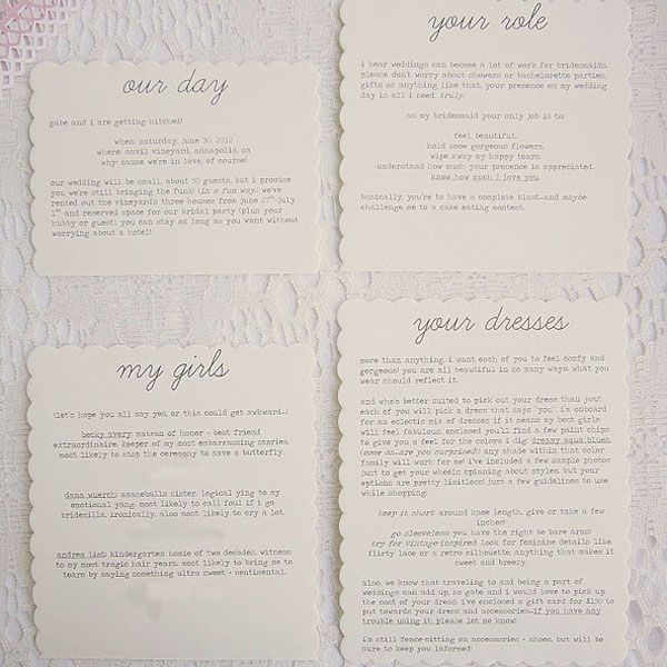 DIY Will You Be My Bridesmaid Keepsake | Wedding Planning, Ideas & Etiquette | Bridal Guide Magazine