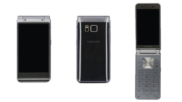 Samsung W2016: a flap Galaxy S6