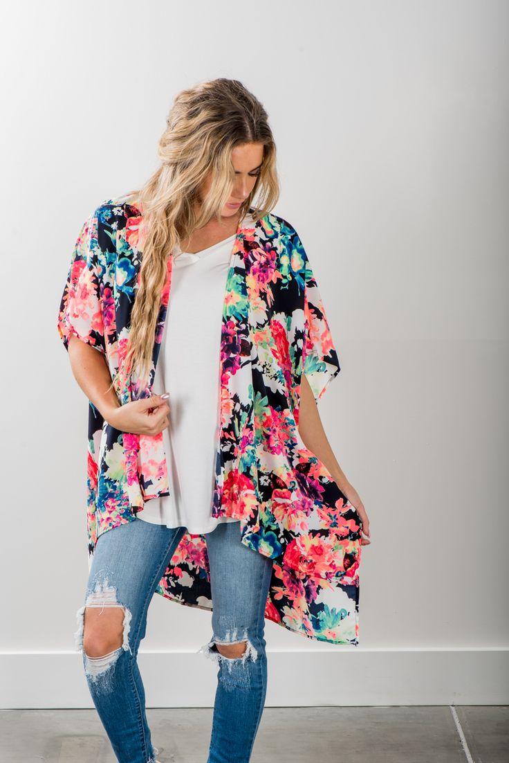 RubyClaire Boutique - Sunshine Day Kimono, $38.00 (https://www.rubyclaireboutique.com/sunshine-day-kimono/)