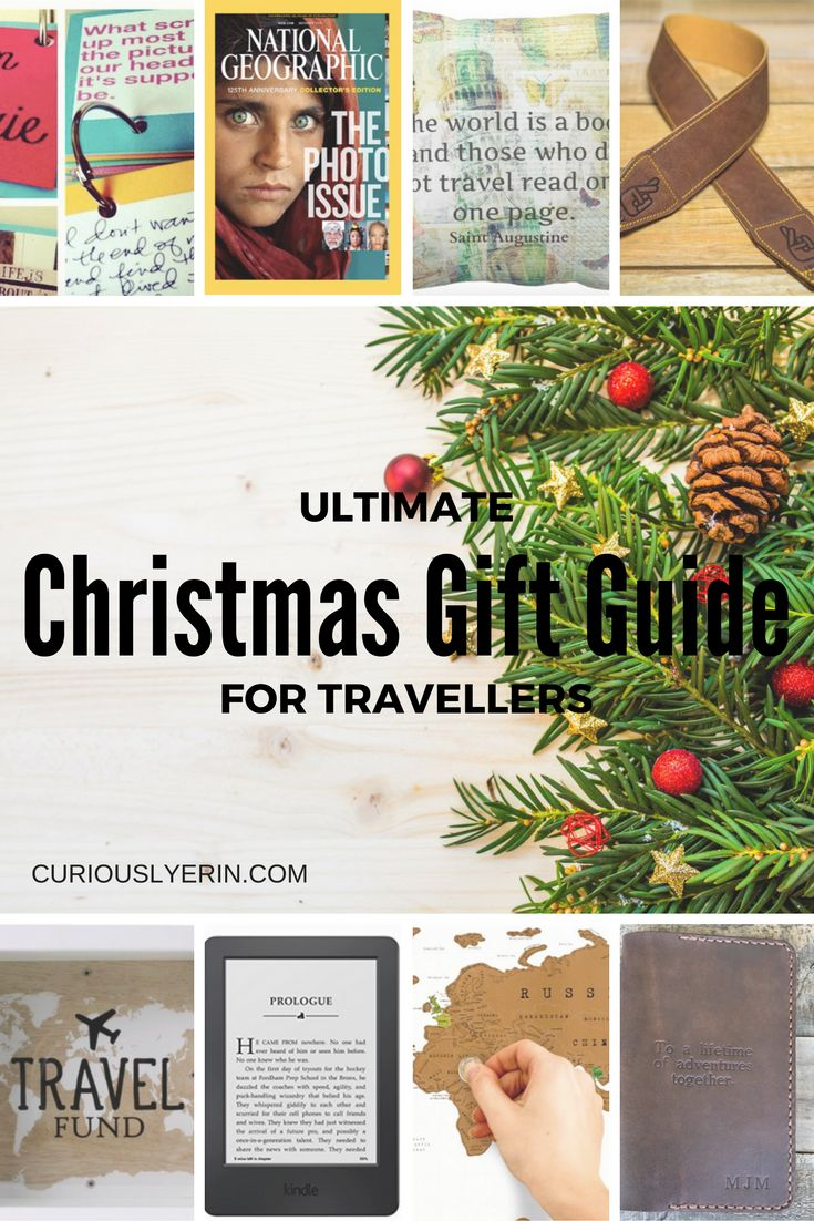 Searching for some holiday gift inspiration? These 25 gift ideas are perfect for your travelling friends and family http://curiouslyerin.com/2016/11/28/ultimate-christmas-gift-guide-for-travellers/