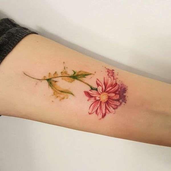 I tatuaggi con le margherite  (Foto 20/20) | PourFemme