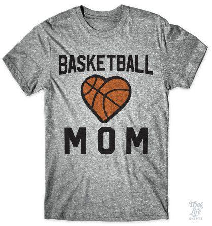 Proud basketball mom.