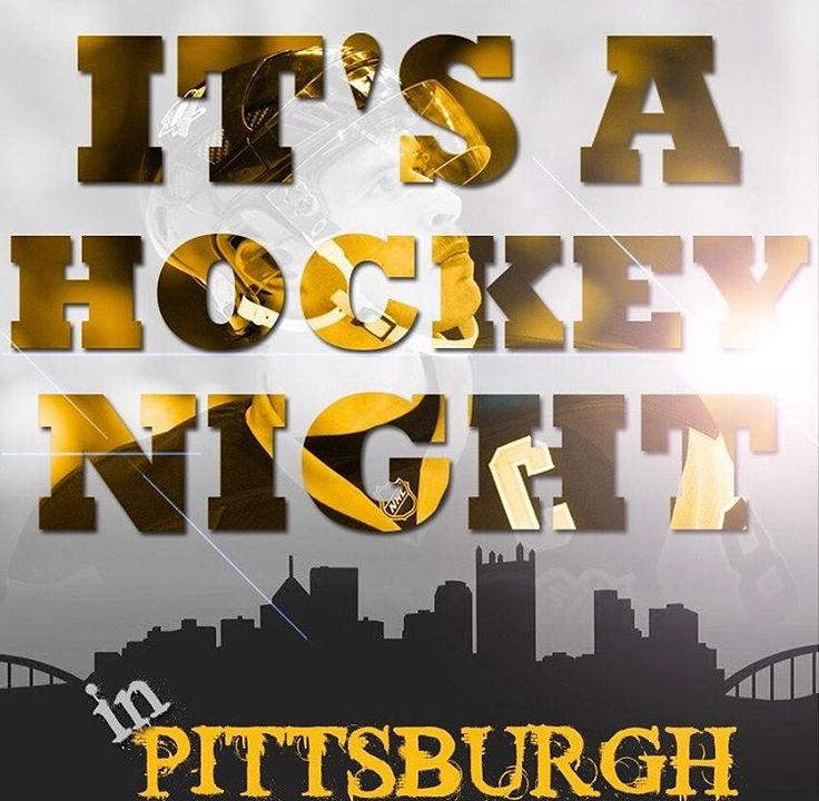 """It's a hockey night in Pittsburgh!"" -Mike Lange"