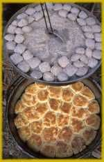 This site rocks! It has correct temps, seasoning techniques and recipes! Dutch oven recipes!