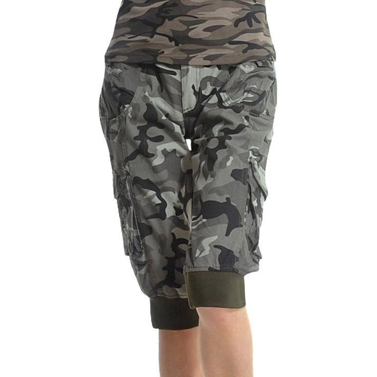 TANGDA Women Cotton Blend Camouflage Printed Short Pants Camo Shorts Size XL. Durable, comfortable and functional. Can be used as sports or leisure wear. Imported. Hand or Machine Cold and Hang or Line Dry. Designed all around Camo print- with stretch fabric, Low rise fit for style and comfort. Asian S fit for US XX-S; Asian M fit for US X-S; Asian L fit for US S; Asian XL fit for US M; Asian XXL fit for US L.