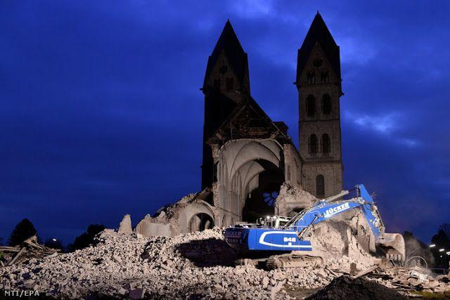Agyrém: XII. századi templomot romboltak porig Németországban - I Love Hungary