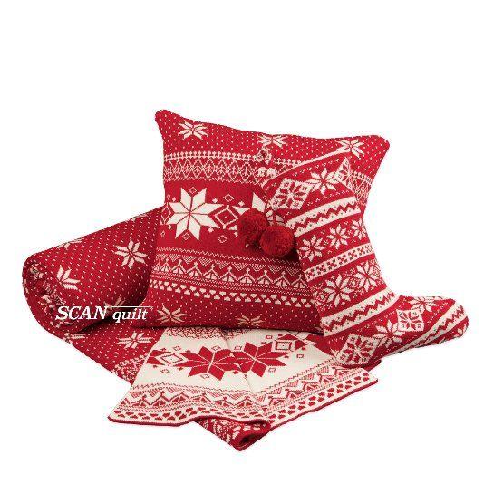 pletený pléd SUOMI