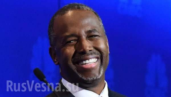 Кандидат в президенты США от Республиканской партии Бен Карсон