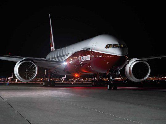 Boeing 777X ground