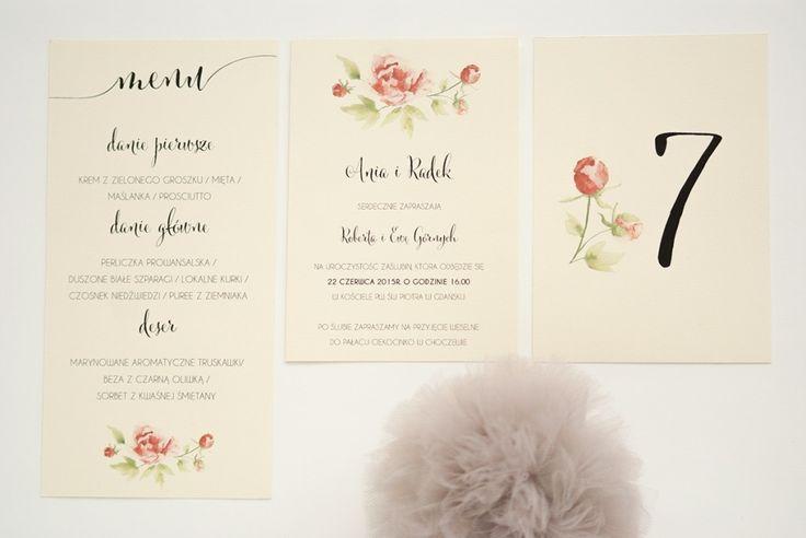 Zaproszenia ślubne - Ogród miłości