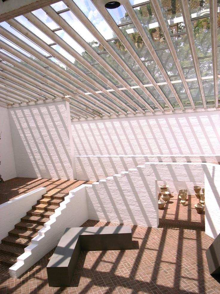 interior, The Philip Johnson Glass House
