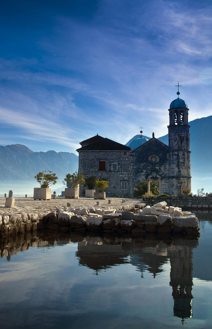 Our Lady of the Rock Church, Perast, Bay of Kotor, Montenegro
