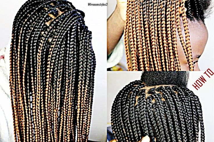 Learn How To Box Braid Like A Pro Only (1 HOUR)