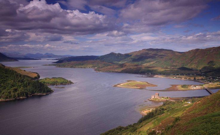 Замки Шотландии: Эйлен Донан (Eilean Donan Castle)