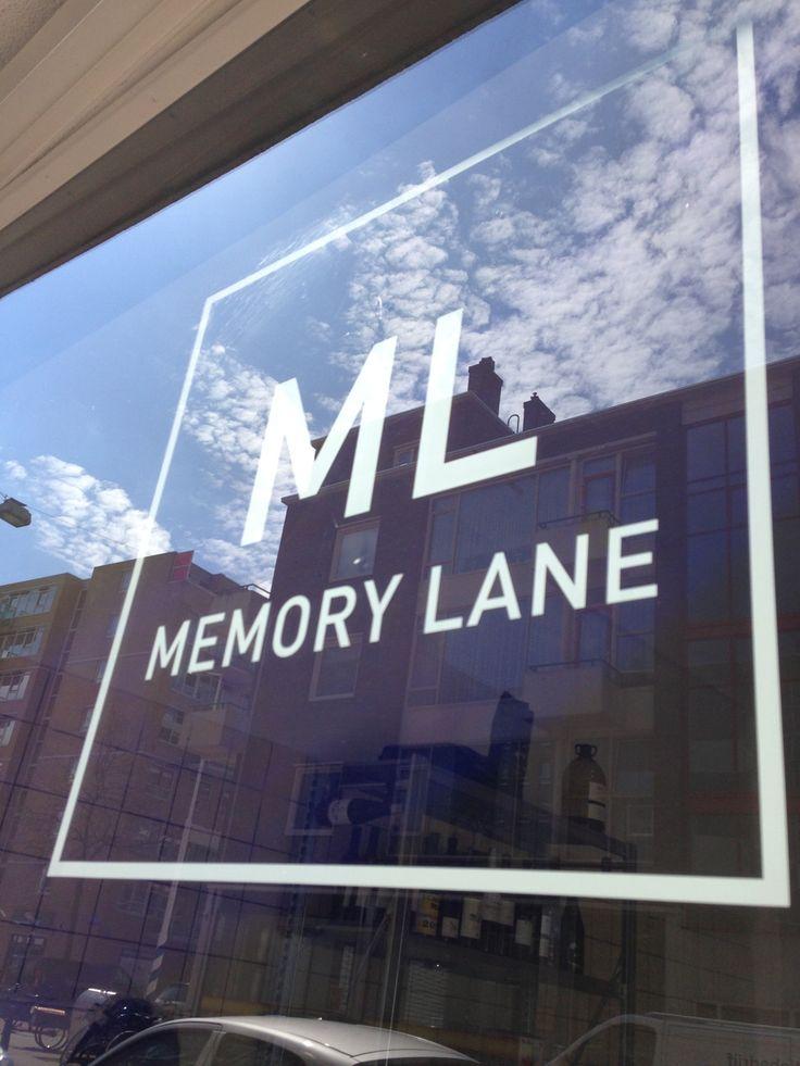 Memory Lane in Rotterdam, Zuid-Holland
