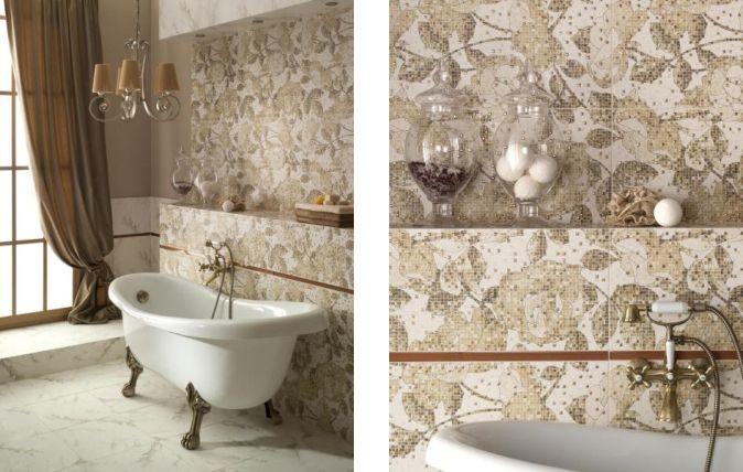 Dwie powierzchnie – satynowa i błyszcząca, przypominają marmur naturalny i polerowany. łazienka, design, piękno  http://www.paradyz.com/plytki/lazienkowe/genezo-enezi  https://www.facebook.com/CeramikaParadyz