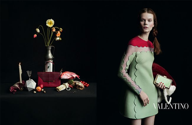 Valentino's Fall/Winter 2013 Campaign Inspired by Vivid Flemish Paintings | Featured on Sharedesign.com