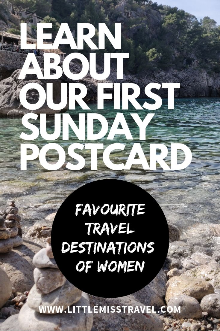 Sunday Postcards are suggested travel spots around the world, which